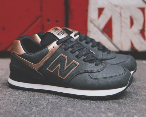 new balance 574 grey and rose gold