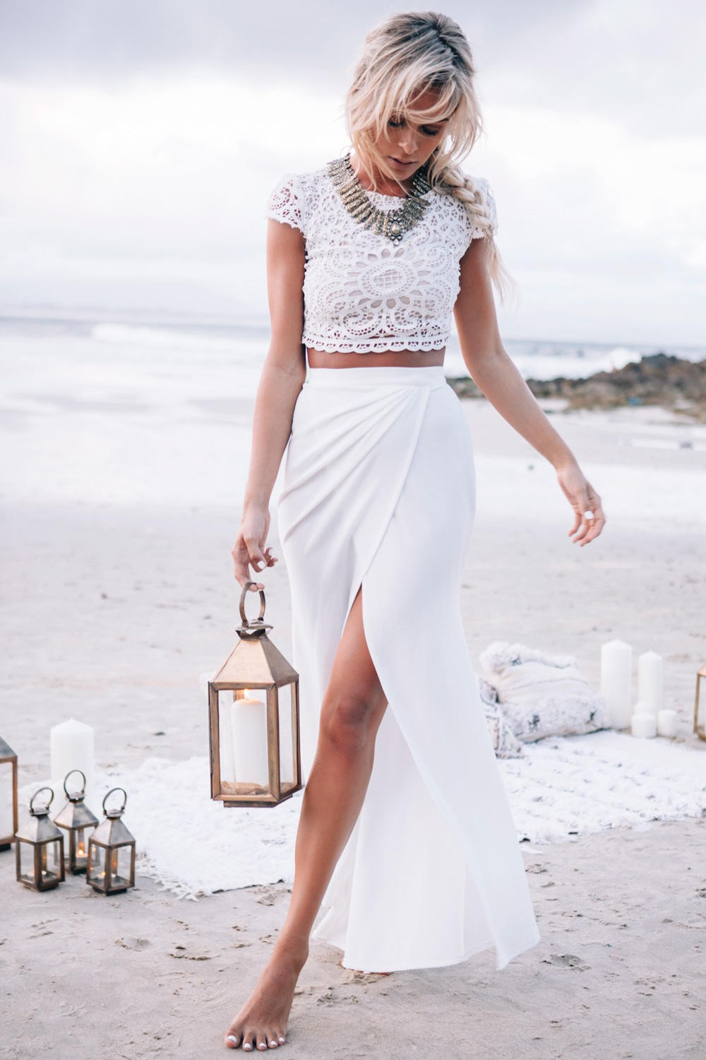 Sabo Skirt Formal Range- Wanted (Amelle Set - Ivory) by - Size 8 ...